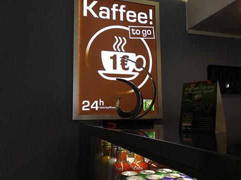 24 Seven Bahnhofsbar – Kaffee