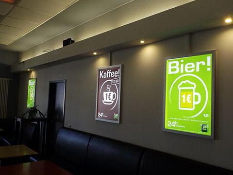 24 Seven Bahnhofsbar – Kaffee & Bier