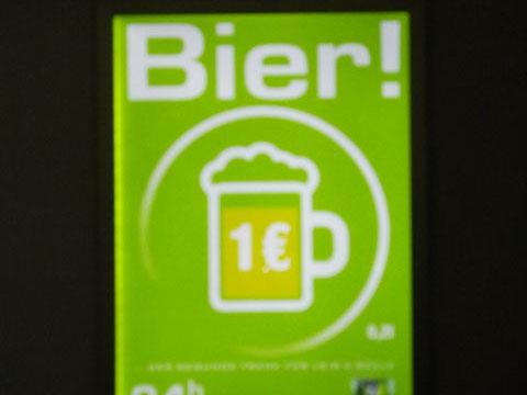 24 Seven Bahnhofsbar – Bier