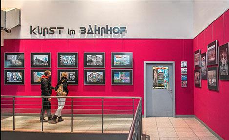 Kunst im Bahnhof